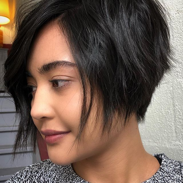 bob frisuren mittellang gestuft